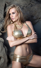 Goldene Bikinis